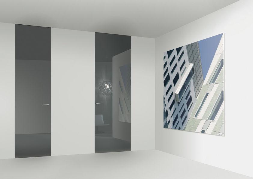 Flush swing door (full height)